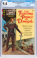 Silver Age (1956-1969):Adventure, Movie Comics: Fighting Prince of Donegal #nn File Copy(Gold Key, 1967) CGC NM 9.4 Off-white to white pages....