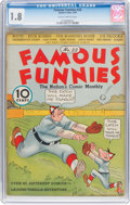 Platinum Age (1897-1937):Miscellaneous, Famous Funnies #22 (Eastern Color, 1936) CGC GD- 1.8 Slightlybrittle pages....