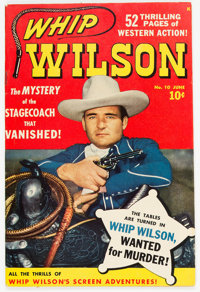 Whip Wilson #10 (Marvel, 1950) Condition: VF-