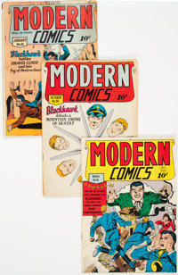 Modern Comics #81, 90, and 95 Group (Quality, 1949-50).... (Total: 3 Comic Books)