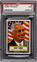 Non-Sport Cards:General, 1952 Topps Look 'N See Harry Truman #5 PSA Mint 9 - None Higher. ...