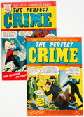 Golden Age (1938-1955):Crime, Perfect Crime #2 and 4 Group (Cross Publications, 1950) Condition: Average FN/VF.... (Total: 2 Comic Books)