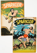 Golden Age (1938-1955):Miscellaneous, Sparkler Comics #42 and 44 Group (United Feature Syndicate, 1945) Condition: Average FN-.... (Total: 2 Comic Books)