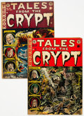 Golden Age (1938-1955):Horror, Tales From the Crypt #30 and 35 Group (EC, 1952-53).... (Total: 2 Comic Books)