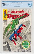 Silver Age (1956-1969):Superhero, The Amazing Spider-Man #64 (Marvel, 1968) CBCS NM+ 9.6 White pages....