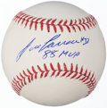 "Autographs:Baseballs, Jose Canseco ""88 MVP"" Single Signed Baseball...."