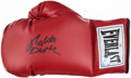 Boxing Collectibles:Autographs, Roberto Duran Signed Boxing Glove. ...