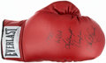 Boxing Collectibles:Autographs, Sean O'Grady Signed Boxing Glove....