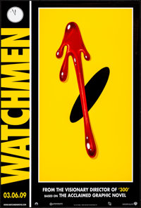 "Watchmen & Other Lot (Warner Brothers, 2009) Rolled, Very Fine-. One Sheets (2) (27"" X 40"") SS Advance..."