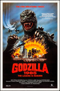 "Movie Posters:Science Fiction, Godzilla 1985 & Other Lot (New World, 1985) Rolled, Fine/Very Fine. One Sheets (2) (26.75"" X 39.5 & 27"" X 41""). Science Fict... (Total: 2 Items)"