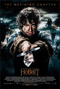 """Movie Posters:Fantasy, The Hobbit: The Battle of the Five Armies (Warner Brothers, 2014) Rolled, Very Fine. One Sheet (27"""" X 41"""") DS Advance Bilbo ..."""