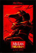 """Movie Posters:Animation, Mulan & Others Lot (Buena Vista, 1998) Rolled, Overall Grade: Very Fine. One Sheet & International One Sheets (2) (27"""" X 40""""... (Total: 3 Items)"""