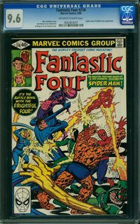 Fantastic Four #218 (Marvel, 1980) CGC NM+ 9.6 Off-white to white pages