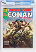 Magazines:Adventure, Savage Sword of Conan #1 (Marvel, 1974) CGC NM+ 9.6 Off-white to white pages....