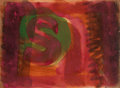 Prints & Multiples, Howard Hodgkin (1932-2017). Red Listening Ear, 1986. Etching with carborundum in colors on TH Saunders. 18-5/8 x 25-1/4 ...