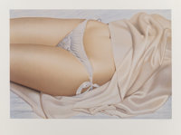 John C. Kacere (1920-1999) Ileana II, n.d. Lithograph in colors on smooth wove paper 23-5/8 x 31-