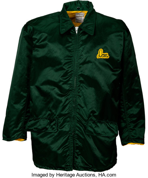buy popular ab983 f10fa 1970's Domenic Gentile Worn Green Bay Packers Jacket from ...