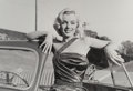 Photographs:Gelatin Silver, Frank Worth (American, 1923-2000). Marilyn Monroe, on set of How to Marry a Millionaire, 1953. Gelatin silver, printed...