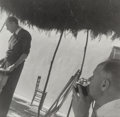 Photographs:Gelatin Silver, Charles Henri Ford (American, 1913-2002). Cartier Bresson and Pavel Tchelitchew, circa 1940s. Gelatin silver, printed la...