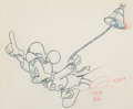 Animation Art:Production Drawing, Tugboat Mickey Animation Drawing (Walt Disney, 1940)....