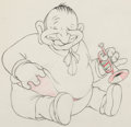 Animation Art:Production Drawing, Mother Goose Goes to Hollywood Walla...