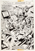 Original Comic Art:Panel Pages, Dick Dillin and Frank McLaughlin Justice League of America#151 Story Page 14 Original Art (DC, 1978)....