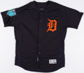 Baseball Collectibles:Uniforms, 2018 Victor Martinez Game Worn Detroit Tigers Spring Training Jersey....