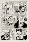 Original Comic Art:Panel Pages, Curt Swan and Frank Chiaramonte Action Comics #515 StoryPage 5 Original Art (DC, 1981)....