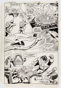 Original Comic Art:Panel Pages, Curt Swan and Dave Hunt Action Comics #542 Story Page 8Original Art (DC, 1983)....