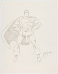 Original Comic Art:Illustrations, Bob Layton - Superman Reimagined Commission Illustration OriginalArt (c. 1980s)....