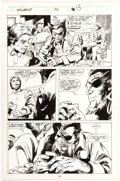 Original Comic Art:Panel Pages, Gene Colan Wolverine #24 Story Page 10 Original Art (Marvel,1990)....