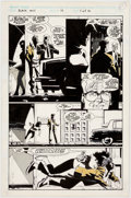 Original Comic Art:Panel Pages, Howard Chaykin Black Kiss #10 Story Page 1 Original Art (Vortex, 1989)....