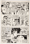 Original Comic Art:Panel Pages, Frank Springer and Mike Esposito (attributed) Nick Fury, Agentof S.H.I.E.L.D. #11 Story Page 5 Original Art (Marv...