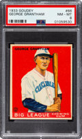 Baseball Cards:Singles (1930-1939), 1933 Goudey George Grantham #66 PSA NM-MT 8 - Only One Higher. ...