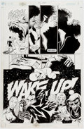 Original Comic Art:Panel Pages, Paul Gulacy and Jimmy Palmiotti Sci-Spy #3 Story Page 8Original Art (DC, 2002)....