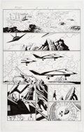 Original Comic Art:Panel Pages, Paul Gulacy and Jimmy Palmiotti Shang-Chi: Master of Kung Fu#4 Story Page 7 Original Art (Marvel, 2003)....