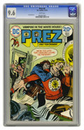 Bronze Age (1970-1979):Miscellaneous, Prez #4 (DC, 1974) CGC NM+ 9.6 White pages. ...