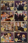 """Movie Posters:Comedy, Her Bodyguard (Paramount, 1933). Lobby Card Set of 8 (11"""" X 14""""). Comedy. Starring Edmund Lowe, Wynne Gibson, Edward Arnold,... (Total: 6 Items)"""