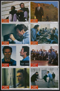 "Movie Posters:Thriller, Escape from Alcatraz (Paramount, 1979). Lobby Card Set of 8 (11"" X 14""). Thriller. Starring Clint Eastwood, Patrick McGoohan... (Total: 8 Items)"