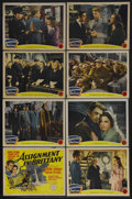 """Movie Posters:War, Assignment in Brittany (MGM, 1943). Lobby Card Set of 8 (11"""" X14""""). War. Starring Jean-Pierre Aumont, Susan Peters, Richard...(Total: 8 Items)"""