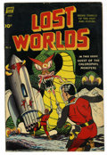 Golden Age (1938-1955):Science Fiction, Lost Worlds #5 (Standard, 1952) Condition: FN....