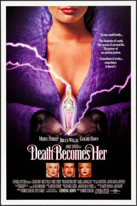 "Death Becomes Her & Others Lot (Universal, 1992) Rolled, Very Fine. One Sheets (3) (27"" X 41"" &amp..."