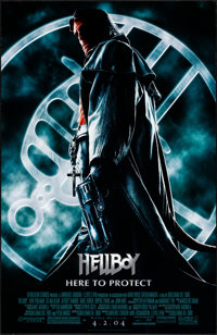 """Hellboy & Other Lot (Columbia, 2004) Rolled, Very Fine. One Sheets (2) (26.75"""" X 39.75"""" & 27"""" X 4..."""