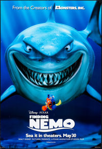 "Finding Nemo & Others Lot (Disney, 2003) Rolled, Very Fine. One Sheets (3) (27"" X 40"") DS Advance. Ani..."