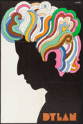 """Movie Posters:Rock and Roll, Bob Dylan by Glaser (CBS Records, 1966) Folded, Very Fine. Album Poster (22"""" X 33""""). Milton Glaser Artwork. Rock and Roll.. ..."""