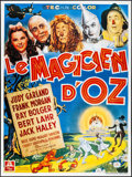 """Movie Posters:Fantasy, The Wizard of Oz (MGM, R-1990s) Folded, Very Fine. French Grande(46.5"""" X 62.5""""). Fantasy...."""