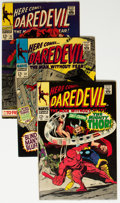 Silver Age (1956-1969):Superhero, Daredevil #30-74 Group (Marvel, 1967-71) Condition: Average FN+....(Total: 45 Comic Books)