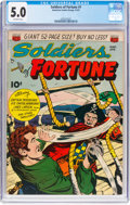 Golden Age (1938-1955):War, Soldiers of Fortune #1 (ACG, 1951) CGC VG/FN 5.0 Off-whitepages....