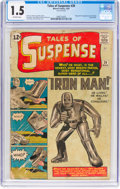 Silver Age (1956-1969):Superhero, Tales of Suspense #39 (Marvel, 1963) CGC FR/GD 1.5 Off-whitepages....