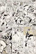 Original Comic Art:Panel Pages, John Buscema and Tom Palmer Avengers #79 Story Page 19 Original Art (Marvel, 1970)....